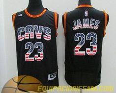 Réplica de Ventas camiseta nba baratas online €19.99: Camisetas Cleveland Cavaliers bandera Kyrie Irving...