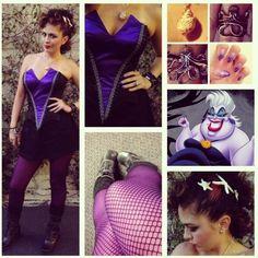 Ursula Disneybound. Friday the 13th at Disneyland.