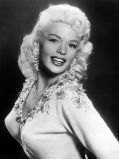 """Jayne Mansfield, also known as,""""The Poor Man's Marilyn Monroe"""", took great pride in her famous, fourty inch bust."""
