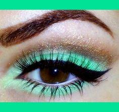 Greens & Golden Brown | Stavy K L.'s (makeupbystavy) Photo | Beautylish