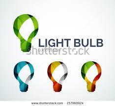 Image result for light bulb logo design
