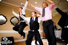 Awesome groomsmen!