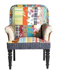 multi colour chair