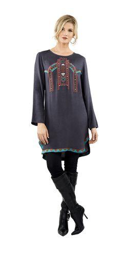 #luv2luv #slategrey #tunic #dress #embroidered #boholook #bohostyles #bohochic #vintageboho #bohemian #hippie #hippiechick #hippielook #fashion #fashionista #fallstyles #fall2015