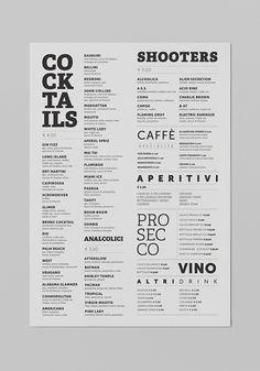 Malo' Cocktail Cafè on Behance