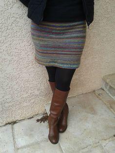 jupe au crochet