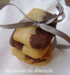 sablés vanille & chocolat
