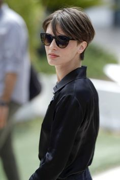 """French actress Marine Vacth attends the """"Amant Double (L'Amant Double')"""" Photocall during the 70th annual Cannes Film Festival at Palais des Festivals on May 26, 2017 in Cannes, France."""