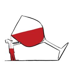 Corner Wine Holder - - Wine And Cheese Date - Wine Cellar Homemade - Cup Of Wine Tattoo - Wine Meme Tuesday Illustration Agency, Wine Jokes, Wine Meme, Wine Logo, Wine Poster, Wine Night, Wine Art, Wine Design, Wine Label