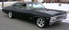 67 Chevy Impala... the car (except I want a 4 door) I want to refurbish and call my own :)