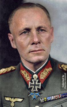 The Desert Fox: Erwin Rommel was a senior German Army officer during World War II. He was ...
