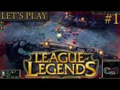 League of Legends gameplay part 1 (IM SO BAD ADC :( )
