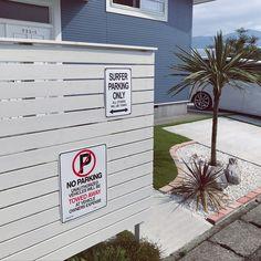 Entrance/西海岸/ウッドフェンス/南国風/ドラセナ/カリフォルニアスタイル...などのインテリア実例 - 2017-07-15 00:10:56