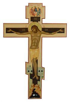 Christian Symbols, Orthodox Christianity, Holy Cross, Orthodox Icons, Crucifix, Religious Art, Virgin Mary, Byzantine, Merlin