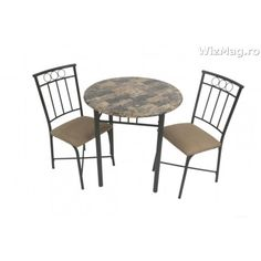 Masa bucatarie WIZ cu scaune mbs-9 Dining Chairs, Table, Furniture, Home Decor, Decoration Home, Room Decor, Dining Chair, Tables, Home Furnishings
