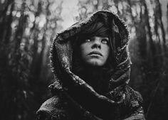 stunning black and white beauty+style portrait photography | Black and White Portrait Photography by Daria Pitak