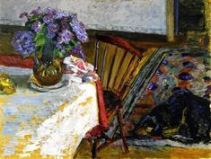 피에르 보나르의 작품세계 Ⅷ-Pierre Bonnard-실내풍경  The Dressing Room, 1892 프랑스 화...