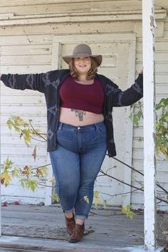 Before you try to tell me you can't wear crop tops..... If she can rock it like a bad bitch you can too.