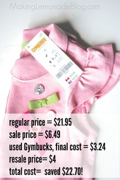 17995f316a81 How I Get GREAT Kids' Clothes for practically FREE! {Back to School}