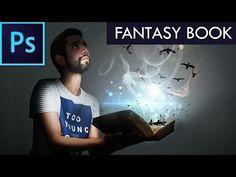 "Efecto ""FANTASY BOOK"" | Photoshop CC Tutorial #13 | Español - YouTube"