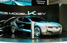 Chinese automaker Qoros unveiled an electric sport sedan concept on Wednesday at the 2017 Shanghai auto show. The concept is called the Model K-EV and is said to preview a production model coming in 2019. Qoros says it's already testing prototypes for the production model and will show one of…