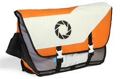 Portal 2 Aperture Laboratories Messenger Bag Aperture Logo, Aperture Science, Geek Out, Nerd Stuff, Cool Stuff, Awesome Things, Back To School Backpacks, You Monster, Portal 2