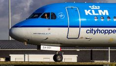 High quality photo of KLM Cityhopper Fokker 70 by DennyRingenier. Visit Airplane-Pictures.net for creative aviation photography.