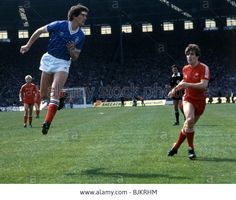 21/05/83 Scottish Cup Final Aberdeen V Rangers Craig Patterson out jumps Mcghee.