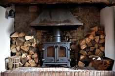 There are certain traits that define masculinity and what it means to man up that most men and women would still agree upon. Daily Man Up Photos) - December 2018 Modern Hepburn, Deco Nature, Home Fireplace, Fireplaces, Brick Fireplace, Interior And Exterior, Interior Design, Cabins And Cottages, Cabins In The Woods