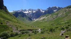Valle de La Ripera y paredes norte de la Sierra de Tendeñera