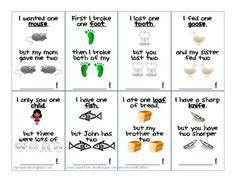 Irregular Plural Nouns Flash Cards
