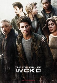 New Maze Runner: The Death Cure poster