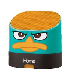 EKids Phineas/Ferb Portable Rechargeable Speaker for MP3 Players/iPhone/iPad by EKids. $22.76. Hardwired Line-In cable works with all iPod/iPhone and other MP3/CD Players and the Disney character design makes it fun for all ages. Share your sounds anywhere with the M63 portable rechargeable speaker system. The contemporary space saving design fits anywhere, and looks great. Enjoy big stereo sound from a small unit. The built in audio cable lets you connect to any a...
