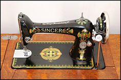 How to clean an antique sewing machine