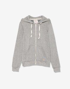 Hooded sweatshirt - See all - Sweatshirts - Woman - PULL&BEAR Portugal