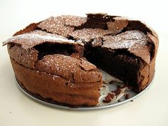 Best flourless chocolate cake recipe - minus the espresso powder