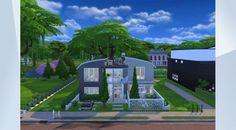 Confira este lote na Galeria do The Sims 4! - Lhes apresento a Villa Mustashe. Uma casa simples, moderna porém com uma riquesa inigualável. Ideal para uma família de média a alta renda. #sims4 #modern #family #beautifull #legacy #thesimmers