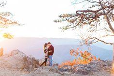 Emily + Josh: Sweet Blue Ridge Parkway Engagement.   Wedding Photography   Photographer   Santa Barbara