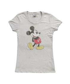 Womens Classic Mickey Mouse Pose T-Shirt
