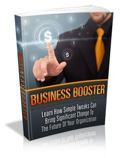 Business BoosterLearn how simple tweaks can bring significant change to the future of your organization Marketing Plan, Business Marketing, Affiliate Marketing, Internet Marketing, Marketing Tools, Make Money Online, How To Make Money, Career Development, The Help