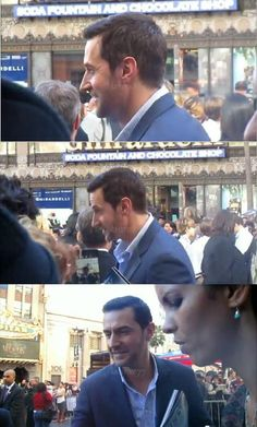 #RichardArmitage with fans after the WOF ceremony