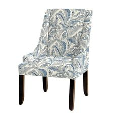 Gramercy Upholstered Chair in Antibes Blue