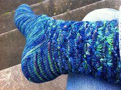 Ravelry: menagerie's Peacock socks Knitting Designs, Knits, Ravelry, Peacock, Socks, Projects, Fashion, Peacock Bird, Moda