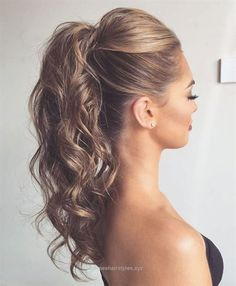 Terrific Curly+Ponytail+With+A+Bouffant  The post  Curly+Ponytail+With+A+Bouffant…  appeared first on  Emme's Hairstyles .
