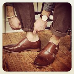 DOUBLE MONKSTRAP @bcnpreppy