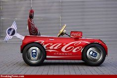 Coke Can Mini Car Pics #cocacola
