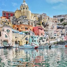 PROCIDA, ITALY. #Procida #Island - #Italy Photo Credit: @anakena88  Via: @world.vacations