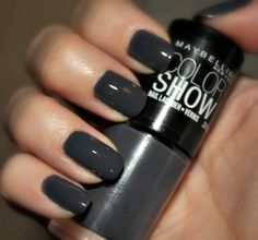 Maybelline Color Show - Impeccable Greys