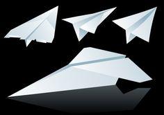 Paper planes, papper, plan, vik