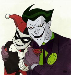 Joker and Harley by RiaSal.deviantart.com on @deviantART